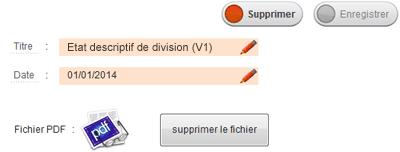 Etat descriptif de division - image 3