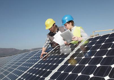 vérification du respect des normes lors de la mise en oeuvre d'installation solaires