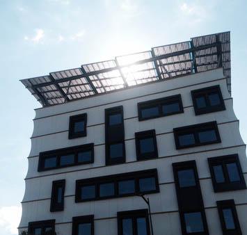 installation de panneaux solaires en toiture de copropriété