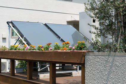 installation d'un panneau solaire sur une partie privative de copropriété
